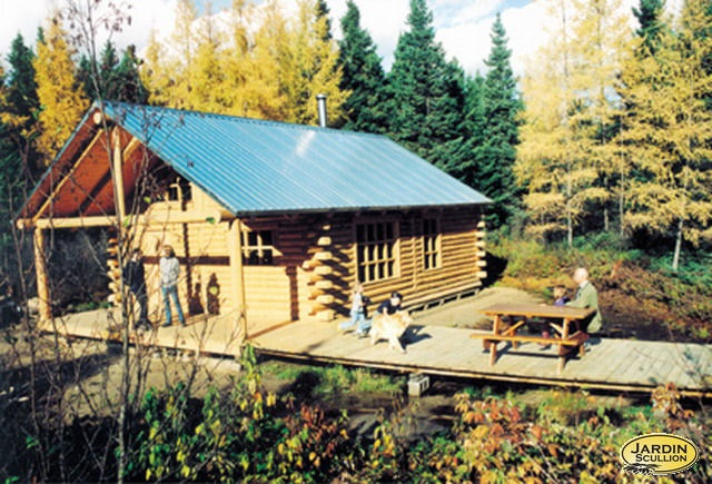 Visite des sentiers forestiers jardin scullion for Jardin scullion